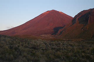 Glowing Ngauruhoe