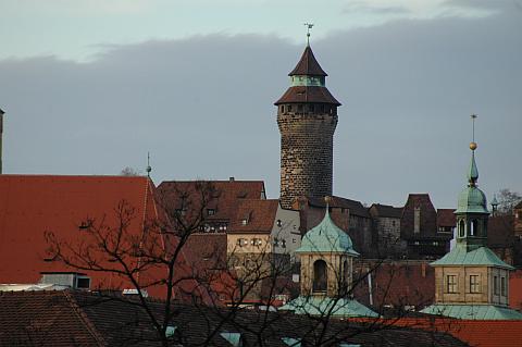 Türmchen in Nürnberg