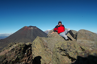 On Mount Tongariro
