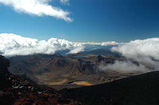 On Mount Ngauruhoe
