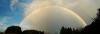 Regenbogen über Waldburg