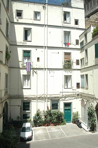 Innenhof Napoli