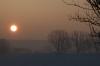 Sonnenaufgang in Albisreute