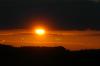 Sonne hinter den Wolken