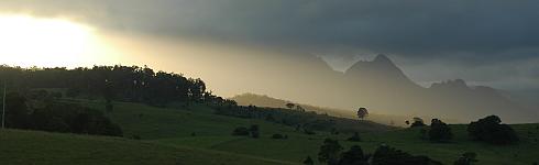 Sonnenuntergang in Australien