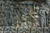 Temple in Tumpang - Carvings