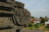 Temple in Tumpang - Old and new