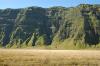 The caldera walls