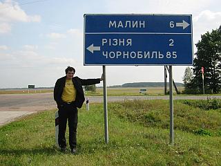Mops nähe Tschernobyl