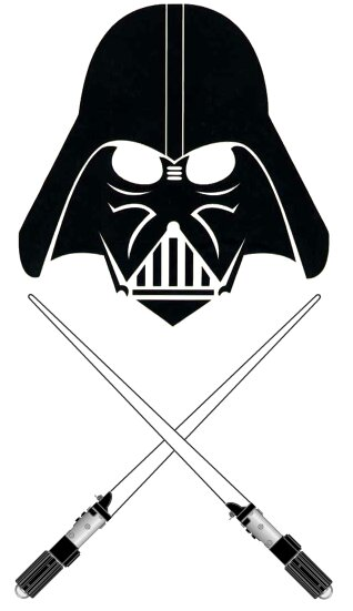 #10 - Darth Vader and Lightsabers. vadersabers