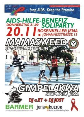 AIDS-Hilfe-BenefizVeranstaltung 20.11.2008, Rosenkeller