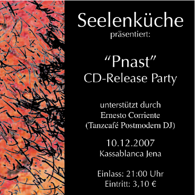 Seelenkueche CD-Release - Kassablanca - Jena