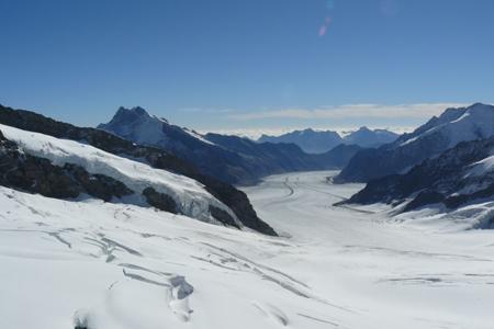 Aletschgletscher-vom-Jungfraujoch