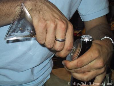 Martiniglas_Vorher