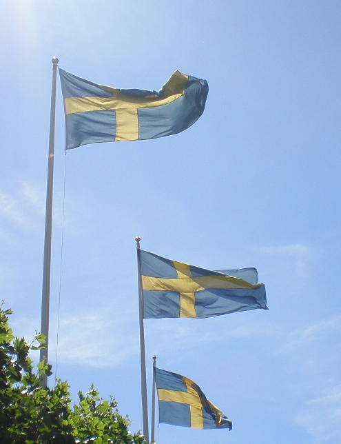 schwedische Fahnen / Swedish flags