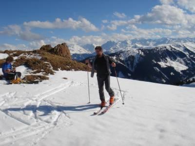 2.4.06 - Philipp und ich am Schneehasei-Bichl, 16.30 Uhr!