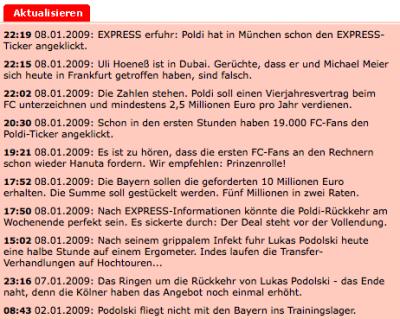 Express-Ticker