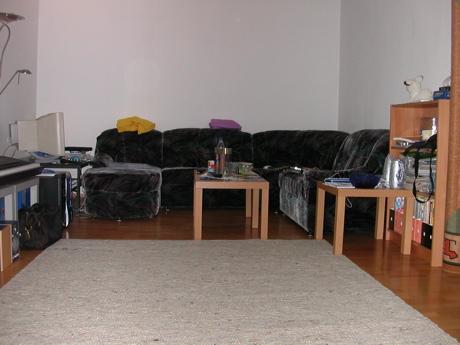 Neuer Wohnzimmerteppich