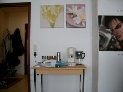 Die alte Kaffee-Wand...