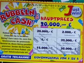 Rubbellos Gewinner