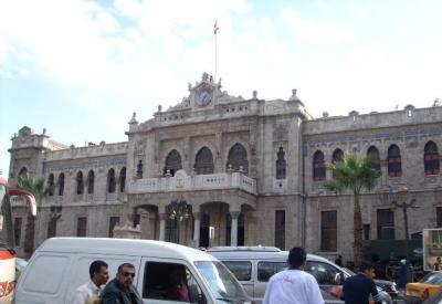 Der Hijazbahnhof in Damaskus