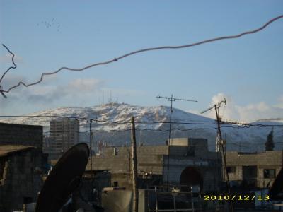 Schnee in Damaskus II