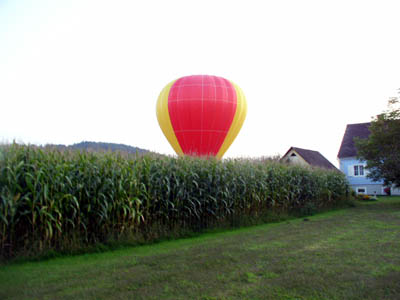 Balloon in Walkersdorf