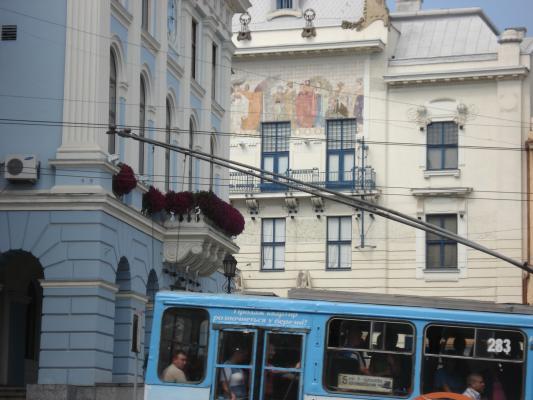 Rathaus, Ukrainisches Haus im Jugendstil