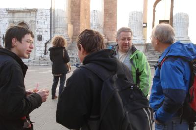 Rathausplatz, Minervatempel
