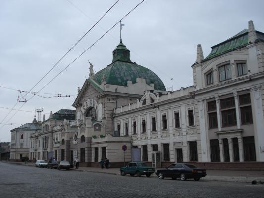 Bahnhof Cernovics