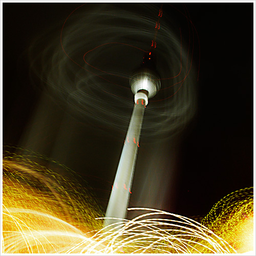 Der Fernsehturm in Berlin