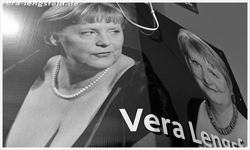 Wahlplakat von Vera Lengsfeld