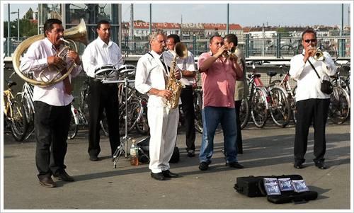 Eine rumänische Band in Berlin