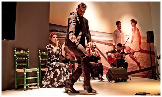 Flamencotänzer auf der ITB