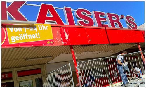 Kaisersfiliale im Umbau