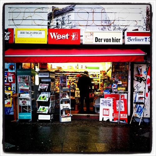 Kiosk in Berlin-Friedrichshain