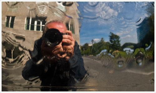 Selbstportrait in der Spiegelkugel