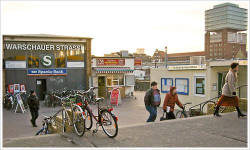 Es war einmal ... S-Bahnhof Warschauer Brücke