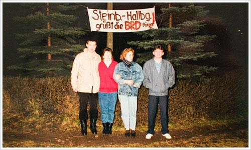 Gruppenfoto in Steinbach-Hallenberg