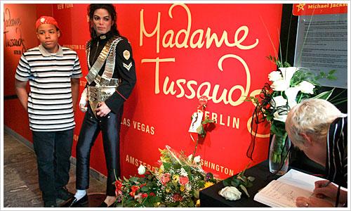 Michael Jackson bei Madame Tussaud