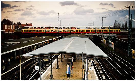 Das Ostkreuz - Ein Kreuzungsbahnhof in Berlin