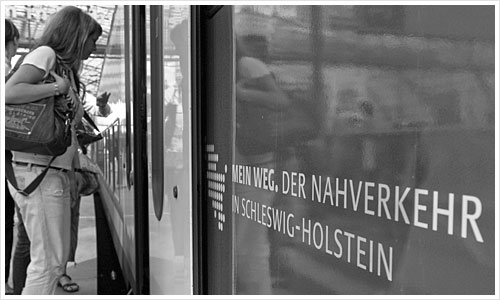 Regionalbahn aus Schleswig-Holstein in Berlin