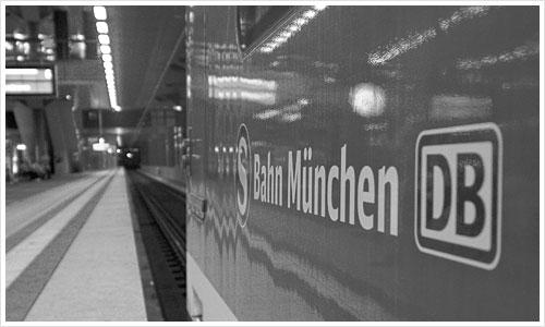 S-bahn aus München in Berlin
