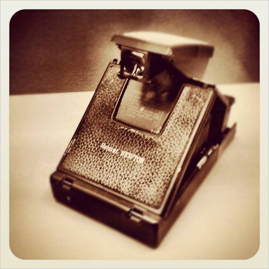 Persönline Polaroidkamera von Helmut Newton