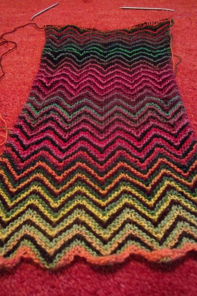 Chevron Scarf Lang Yarns
