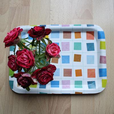Rosen in der Kueche