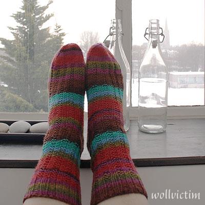 Socken aus Regia Design Line