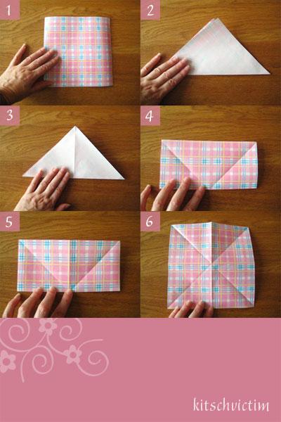 Tutorial Origami Kranich