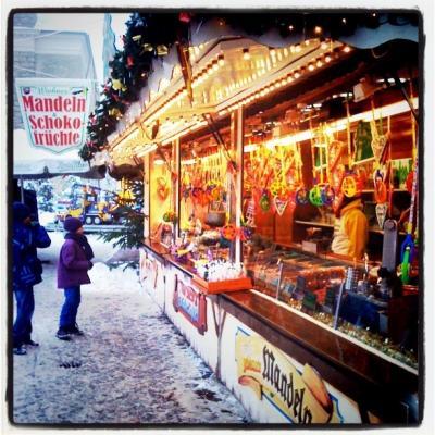 Weihnachtsmarkt Husum 2010
