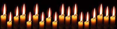 18 Kerzen